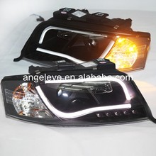 LED Head Light For Audi A6 LED head lamp 2002-2004 year V2 Type(China)