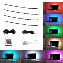 IP65 LED TV Backlight Strip Light Kit RGB 5V USB Light Background Light Strip for TV/Computer/Laptop/Desktop PC Backlight LED St