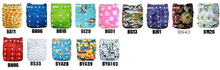2015 ALVA Pocket Bamboo Diaper Anti-bacterial Cloth Diapers Bamboo Organic Bamboo Cloth Nappy(China)