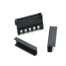 Black Color SATA 15Pin Female Power Connector With Cap.
