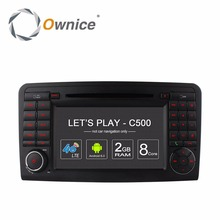 4G SIM Android 6.0 Quad/Octa 8 Core 2GB RAM Car DVD Player For Mercedes Benz ML GL Class W164 X164 Radio GPS Navigation Stereo