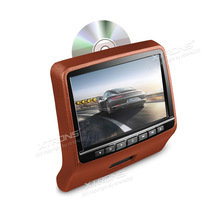 "9"" Headrest Car DVD Player Removable Both In Car And Home Use Built-in HDMI Support 32 Bits Games AUX In IR FM SD Backseat Video"