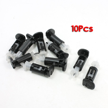 GTFS-Hot 10 Pcs Plastic Mounting Clip for Intel 4 Way CPU Coolers