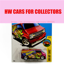 2016 Toy cars Hot Wheels 1:64 Custom 77 Dodge Van Car Models Metal Diecast Collection Kids Toys Vehicle For Children(China)