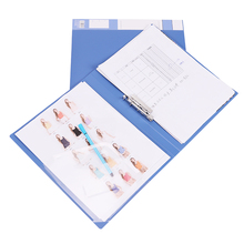 A4 File Folder Durable Waterproof Data Document Clip Paper Filing Folders Stationery Storage Clips School Office