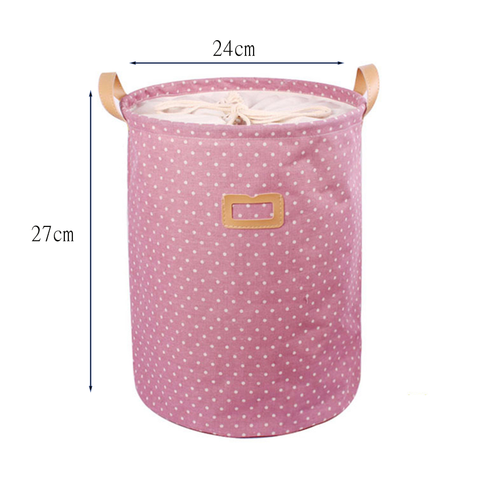 00002 MICCK Storage Basket Dirty Clothes Sundries Waterproof Laundry Basket Organizers Washing Clothes Toy Linen Folding Storage Box