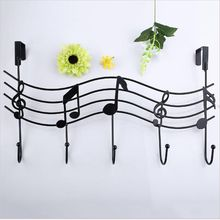 Coat Hat Bag Vintage Metal Music Style Hook Hanger Organizer Holder Decor Wall