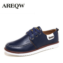 AREQW 2017 new men's fashion pu shoes men's business casual shoes Korean version of a British shoes on behalf of the hair