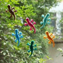 2Pcs/1Set  Car Air Freshener Lovely and Cute Gecko Car Air Purifer Cleaner Car Decal Car-styling Natural and Non-Toxic Perfume