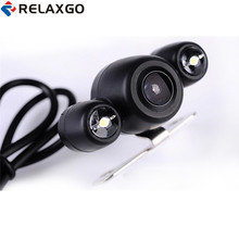 Relaxgo Upgrade HD 720P Rear View Camera For Car DVR Auto Back Camera Parking Function Reverse Image 120 Degree Wide Angle