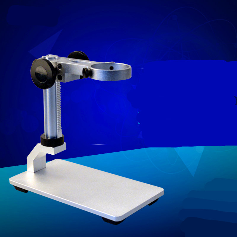 3.5 cm interface can be adjusted up and down the microscope stand + universal sports stand + aluminum multi-functional base <br><br>Aliexpress