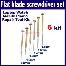 2015 Limited Special Offer Tools 2 Sets Lot 6pcs 0.8-1 8 Mm Screwdriver Laptop Watch Mobile Phone Repair Kit 1 Mobile Phone