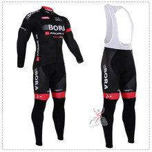 winter Men's long Sleeve Cycling Jersey team sets specialized bicycle cheap cycle clothing Maillot Racing Bike Clothes jersey(China)