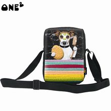 ONE2 design animal shape shopping bag 3d cartoon bags shoulder bag teenager girls boys children canvas ladies side bags(China)