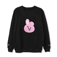 Buy ONGSEONG Kpop BTS BT21 Cartoon Album Thin Hoodie Hip Hop Loose Hoodies Clothes Pullover Printed Long Sleeve Sweatshirts WY617 for $11.89 in AliExpress store