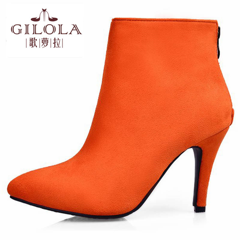 size 34-43 new 2016 ankle high heels platform sexy snow women boots autumn womens boots winter shoes woman best #Y1146917F<br><br>Aliexpress