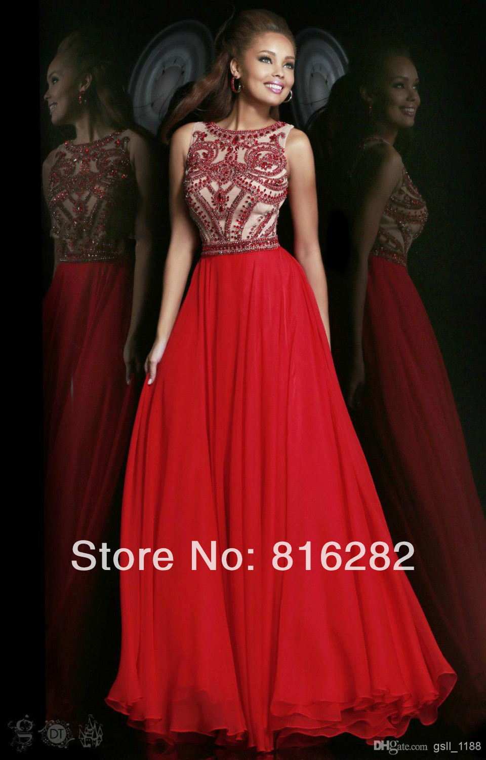 Online Get Cheap Red Prom Dresses 2014 -Aliexpress.com | Alibaba Group