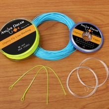 WF2/3/4/5/6/7/8/9F Fly Fishing Line Combo Weight Forward Floating Fly Line 20/30LB Backing Line Tippet Tapered Leader Loop(China)