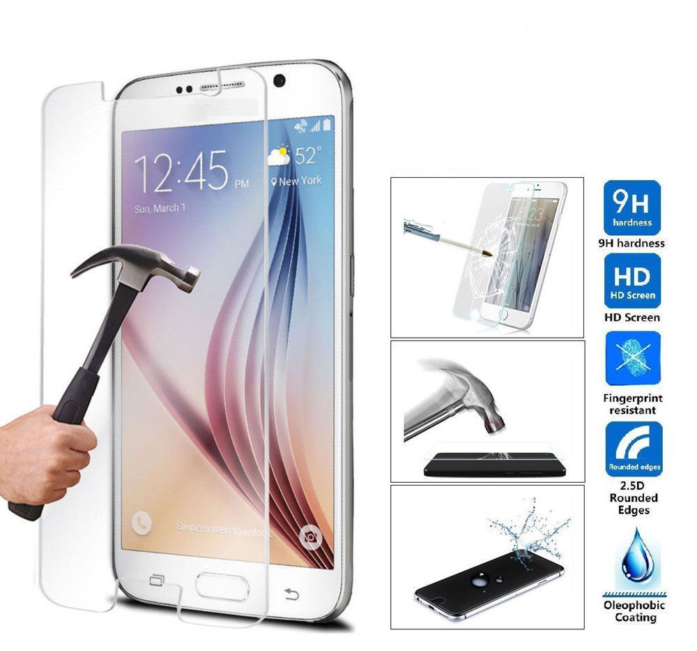 HD Tempered Glass Samsung Galaxy A3 A5 A7 A300 2016 A510 A310 S5 S6 J5 J7 j510 j710 Screen Protector Film sklo glas mobil
