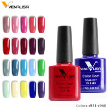 #61508 venalisa 30 colors nail art diy soak off gel uv led 7.5ml nail enamel UV nail gel polish lacquer gel varnish