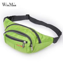 Winmax Multi-function Running Bags Waist Pack Sports Men Women Fitness Gym Bag Outdoor Sport Bags Hiking Waterproof pocket Pouch(China)