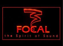 Focal Audio Speaker Theater  Logo beer bar pub club led neon light sign wholesale and retail
