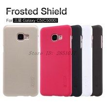 sFor Samsung Galaxy C5 Case Nillkin Frosted Shield Hard Plastic Back Cover Case For Samsung Galaxy C5 C5000 Phone Case Gift Film