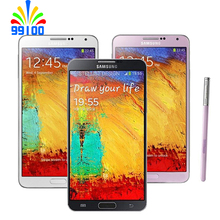 Samsung Galaxy Note3 Note 3 N9000 N900A N900T Unlocked Mobile Phone Quad Core 3GB RAM 5.7 Inches 13MP GPS Refurbished(China)