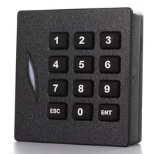 Access control Keypad RFIC IC Card Door Reader 13.56MHz Wiegand 34 bit For Door Access Control system(China)