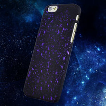 Funda for iPhone 6 Plus 6S Plus Coque Pulse 3D Hologram Galaxy Painting Slim Case Skin Cover I6 Phone Carrying Case Starry Sky