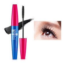2017 NEW 1PC Women 3D Black Eyes Lash Mascara Makeup Liquid Curling Thick Eyelashes Mascara Waterproof Long Lasting Mascara(China)
