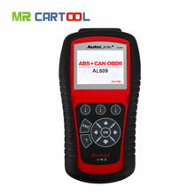 Flash Sale Free Shipping Autel AutoLink AL609 ABS CAN OBDII Diagnostic Tool Diagnoses ABS System Codes Internet Updatable(Hong Kong)