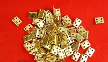 diy box HANDCRAFT solid brass hinge wholesale furniture hardware(China)