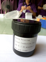 100gram/pack Silver Screen Conductive Ink Screen Printing Ink Free Fedex Delivery(China)