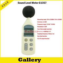 New Prevent Noise Metal Detector Transistor Tester Dosimeter Soud Level Meter Gm1357 Maximum Locked Weighting(China)