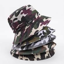 high quality adjustable 55-58cm Camouflage fishing hat umbrella hat(China)