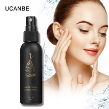UCANBE Cosmetics Make Up Setting Spray 50ML Bottle Finishing Spray Matte Oil-control Quick-dry Natural Makeup Foundation Spray(China)
