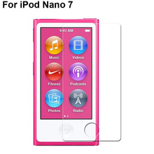 10pcs/lot for iPod nano 7 9H Hard ultra thin premium Tempered Glass Screen guard,Glass screen film,opp bag packing