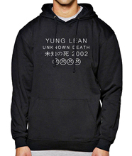Hot Sale Hoody For Men Sweatshirt 2017 Spring Winter Hoodies Mens Yung LEAN UNKNOW DEATH Letter Print Sportsman Wear Harajuku(China)