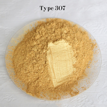 Type 307 Gold  Pigment Pearl powder dye ceramic powder paint coating Automotive Coatings art crafts coloring for leather