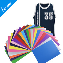 A4 Size 12 Colors High Quality Kenteer PU Heat Transfer Vinyl For Garments 2016 Hot Sale Size And  Color