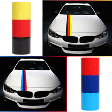 9cm x 1meter Car stying Car Stickers National Flag Glue Stickers BMW BENZ Volkswagen Audi German car accessories