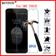 UMI TOUCH Tempered Glass Screen Protector 100% Original 9H Explosion-proof Film X Protective Films Case - BUY FUN Store store