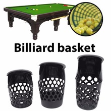 New Billiard Plastic Web Mesh Billiards Drop Pockets Mesh Case Snooker Pool Game Table Liners Billiard Snooker Accessories(China)