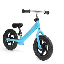 "New Arrival Red Blue Pedal-less 12"" Balance Bike Kid's Bike Great Gift for Children Bicycle(China)"