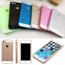 Free Shipping Phone Case For iPhone 5 5S SE Glitter Luxury Ultrathin Bling Hard PC Protector WHD1255