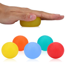 Fitness Hand Therapy Balls Exercises Silicone Decompression Ball Finger Sport Massage Strength Healing Grip Balls(China)