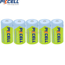 5PCS Huge D size 1.2V NIMH BATTERY 10000mAh Rechargeable Ni-MH Battery high quality(China)