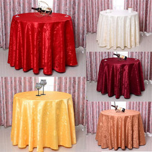 Hot 1.2mx1.2m Round Tablecloth Wedding Banquet Table Cloth Home Party Decor Table Cover Toalha De Mesa Nappe Tafelkleed