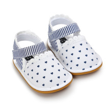 WONBO Baby Shoes Baby Girls Shoes Soift Cotton Fabric Shoes Summer Princess Lace Prewalkers(China)
